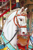 Carousel with horse — Stockfoto