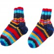 Isolated colorful knitted socks — Stock Photo
