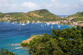 View at the caribbean island Martinique.  — Stock Photo