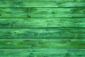 Surface of a green wooden background. — Stock Photo