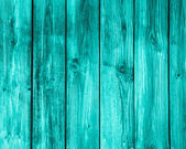 Empty turquoise wooden background. — Stockfoto