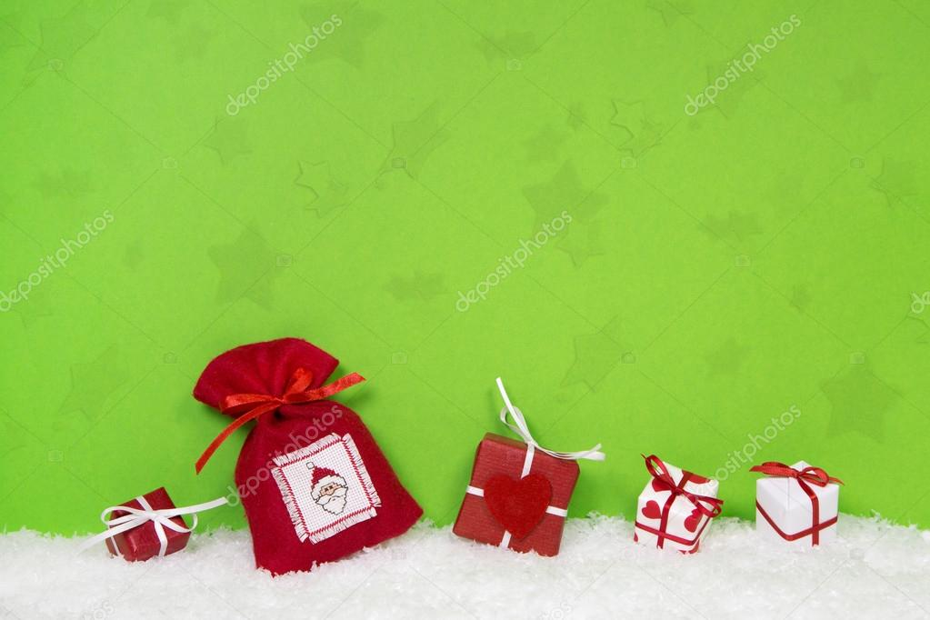 White And Red Christmas Background Red And White Christmas Gifts