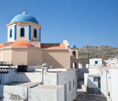 Church of Serifos on the greek islands of cyclades. — Stock Photo