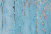 Shabby chic: old wooden used and weathered background in blue co — Stock Photo