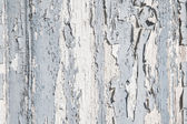 Old rustic blue and grey wood background with peeled color. — Stock Photo