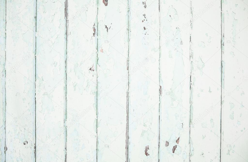 Old wood shabby chic background in mint green pastel color. — Stock ...