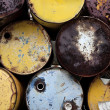 Oil barrels — Stock fotografie