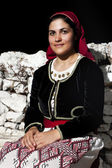 Woman with traditional wear — Stockfoto