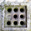 Sewer grate — Stockfoto