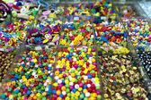 Renkli boncuklar — Stok fotoğraf