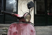 Old scooter — Stock Photo