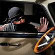 Car thief — Stock Photo #35205973