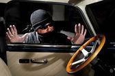 Ladrón de autos — Foto de Stock