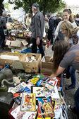 Flea market in Berlin, Germany — Stock Photo