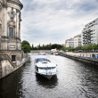 Spree river, Berlin, Germany — Stock Photo