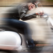 Scooter driver — Stock Photo #36717273