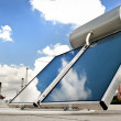 Solar water heater — Stock Photo #46088231