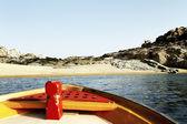 Beach in Ios island,  Greece — Stock Photo