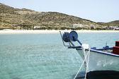 View of Maganari beach, Ios island, Greece — Stock Photo