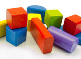 Colorful building blocks — Stock Photo