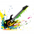 Guitar1708a — Stock Photo