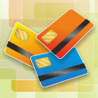 Stock Photo: Chipcard12a