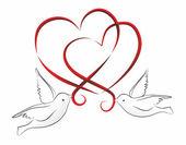 Hearts2203a — Stock Photo