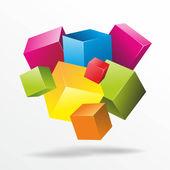 Cubes — Stock Photo