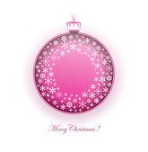 Christmas ball — Foto de Stock