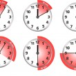 Clocks — Stock Photo #35588219