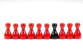 Chinese checkers — Stock Photo