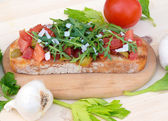 Bruschetta — Foto Stock