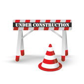 Under Construction 2 — Stock Photo