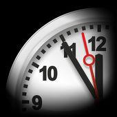 Five minutes to twelve — Stock Photo