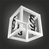 Cube — Foto Stock