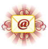 Christmas mail — Stock Photo