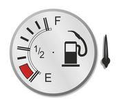 Fuel gauge — Stock Photo