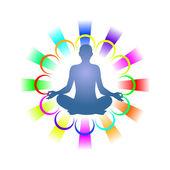 Yoga — Stockvektor