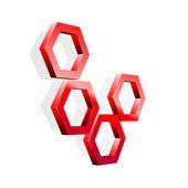 Hexagon — Stock Vector