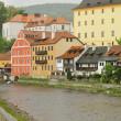 Architecture of Cesky Krumlov — Stock Photo