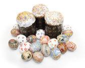 Easter eggs cake — Stock Photo