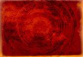 Background toned technocircle — Stock Photo
