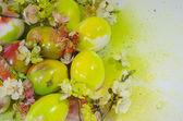 Easter egg paint aerosol — Stock Photo