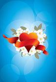 Love flowerses — Stock Vector