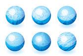 Projekt przycisk symbol logo — Wektor stockowy