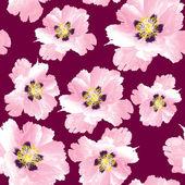 Fiore ornamento di Paeonia suffruticosa peonia牡丹牡丹牡丹装饰花 — Vecteur