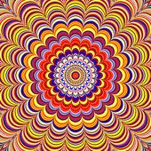 Colorful Optical Illusion — Stock Photo