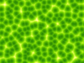 Green plant cells abstract background — Stock Photo