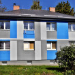 Apartment building - blue — Stock Photo #35511409