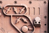 Detail of industrial fittings — Stock Photo